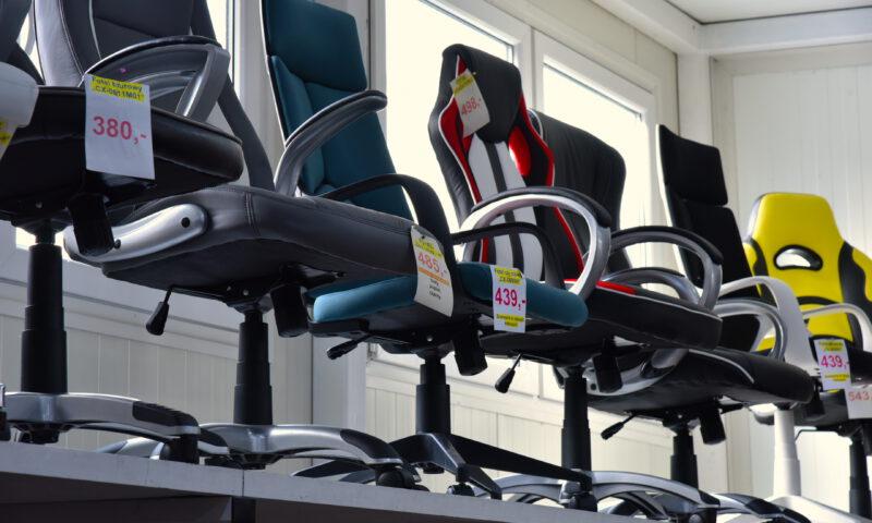 Krzesła obrotowe - Fotele biurowe