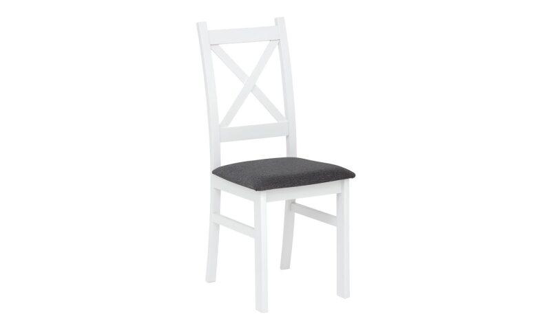 CARLO Krzesło (biało/szare)