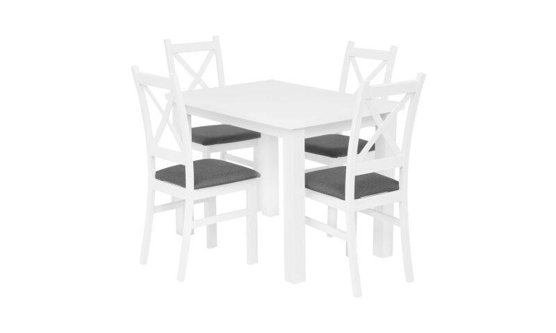 MONTE CARLO Zestaw stół (biały)